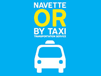 Navette Or by Taxi
