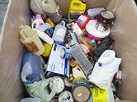 Collecte des résidus domestiques dangereux (RDD)